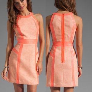 EUC Milly Coral / Pink / Orange Dress